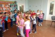 1 июня, дети 11 группы под руководством воспитателя Сударевой Т.А. посетили детскую библиотеку в честь дня защиты детей