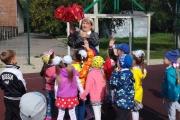 3 сентября дети старшей группы 7 с воспитателем Никифоровой Еленой Ивановной сходили на экскурсию в СОШ 5