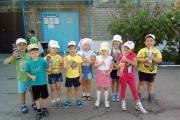 23 июля в дошкольном учреждении прошел конкурс водяных брызгалок